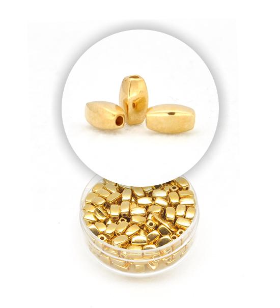 Perla chicco di riso 1 scatolina 6x4 mm oro for Pesce chicco di riso